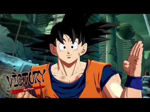 Dragon Ball FighterZ - Base Goku Arcade Gameplay