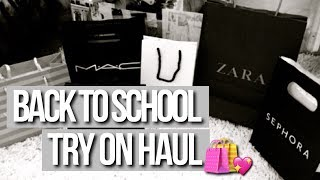 BACK TO SCHOOL TRY ON HAUL💗