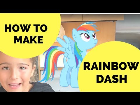 How To Make A Rainbow Dash Costume