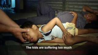 Repeat youtube video Filipino children driven to the streets by crushing poverty