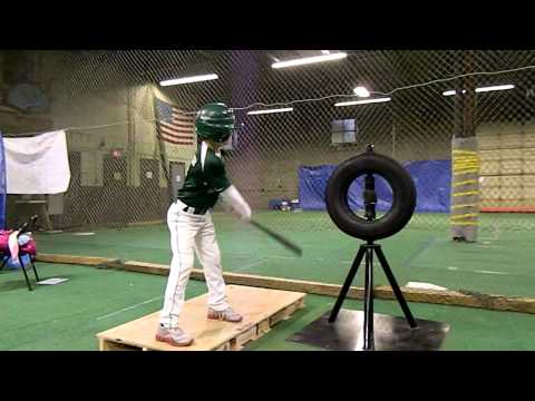 Baseball Practice Hitting Machine Brute Force Tire Tee™