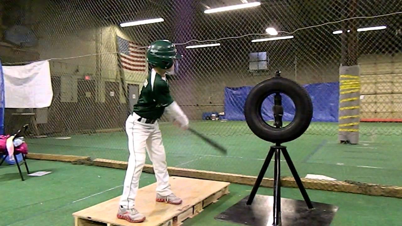Baseball Practice Hitting Machine Brute Force Tire Tee