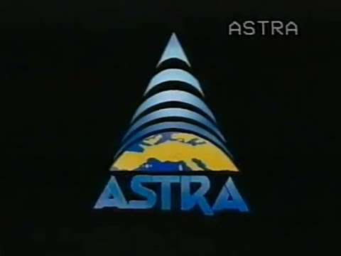 Astra Satellite Promotional Video Recorded from Satellite TV in 1992 (French)