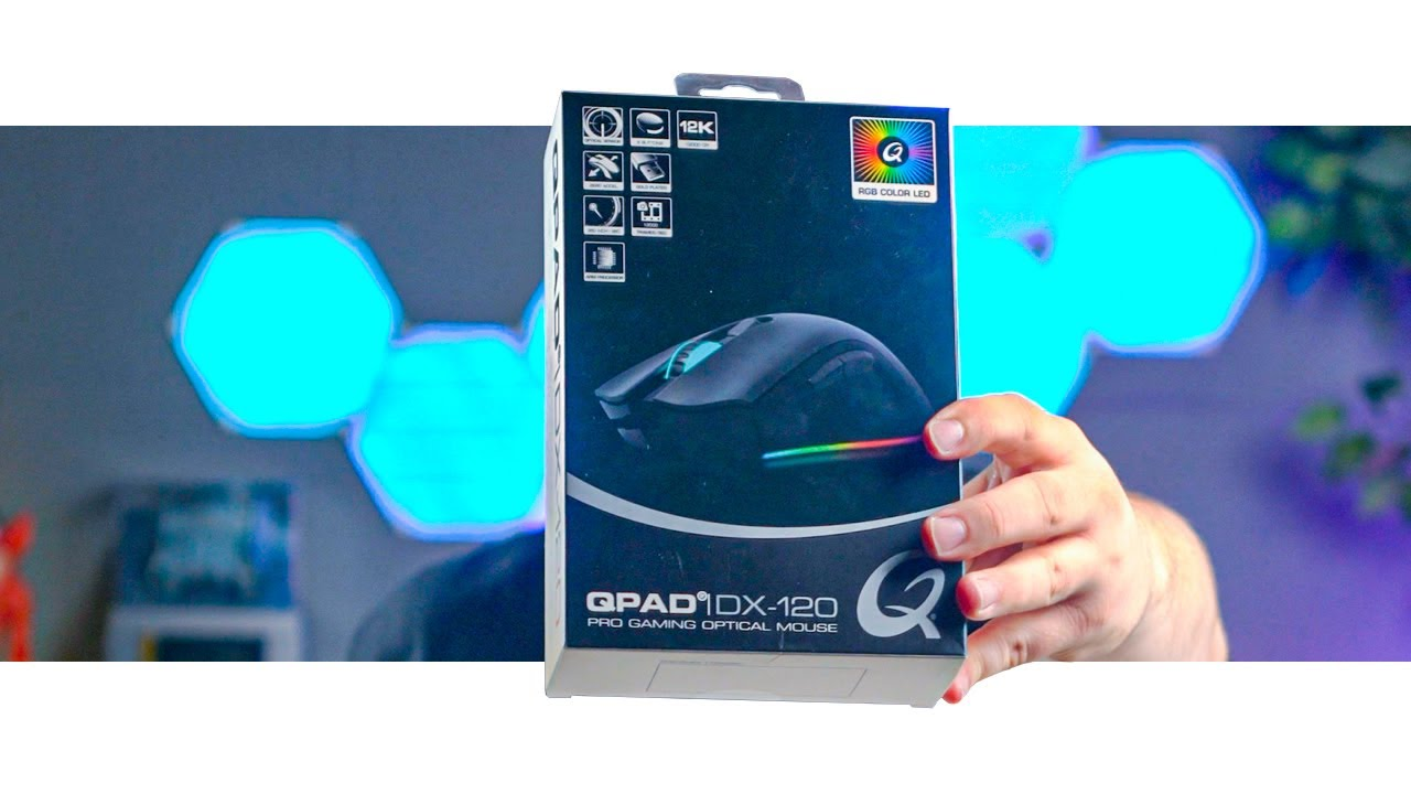 QPad DX-120 Gaming Mouse Review
