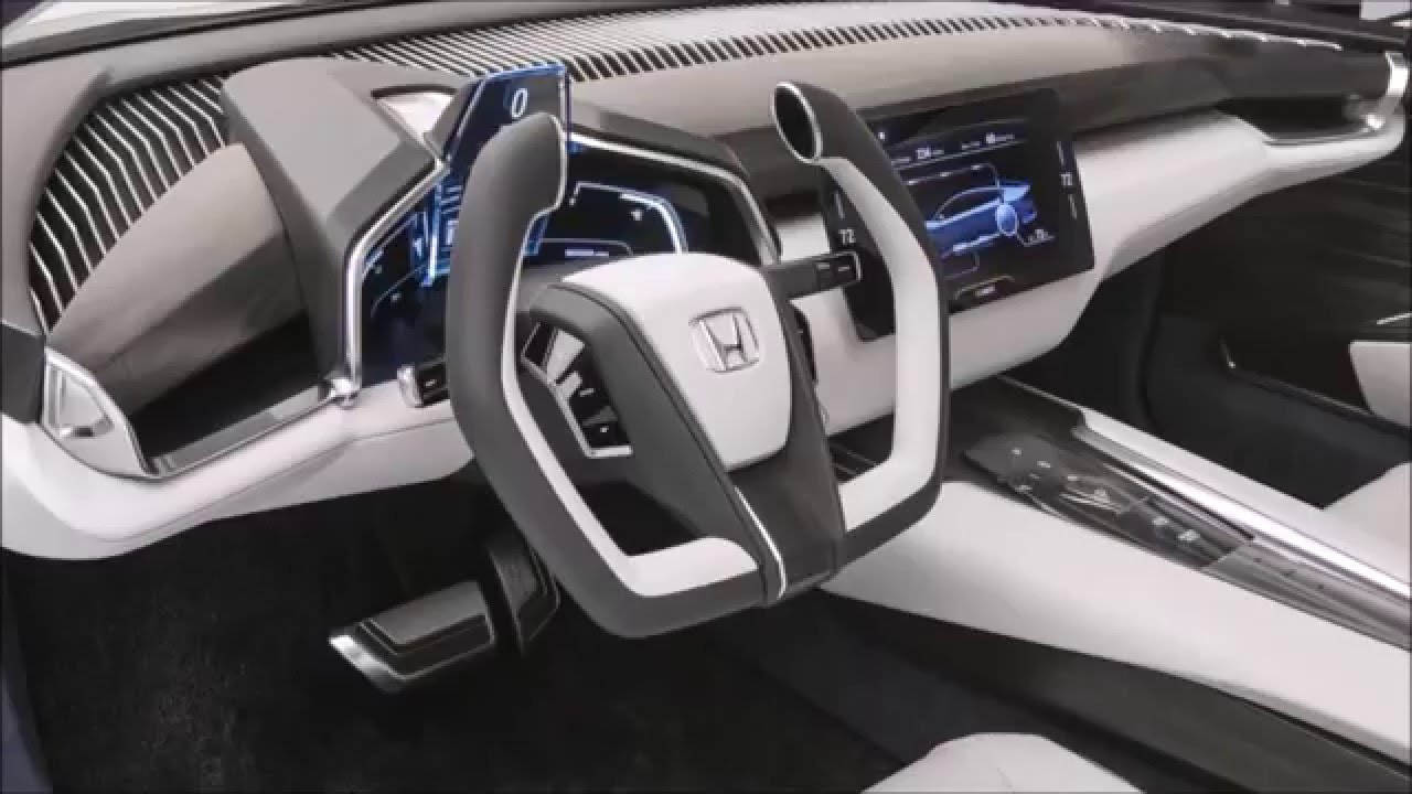 honda fcv hydrogen power car 2016 youtube
