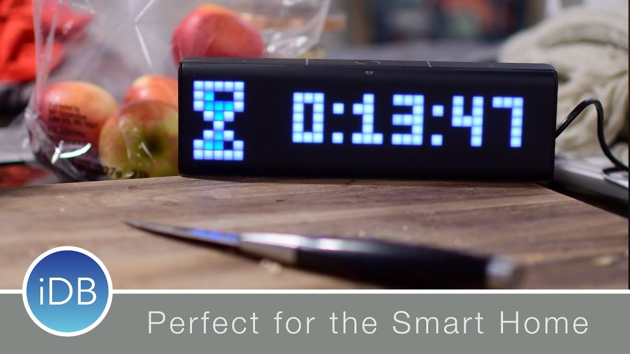 LaMetric Time Wi-Fi Smart Clock can Stream Music, Display Metrics & Control  your Home - Review