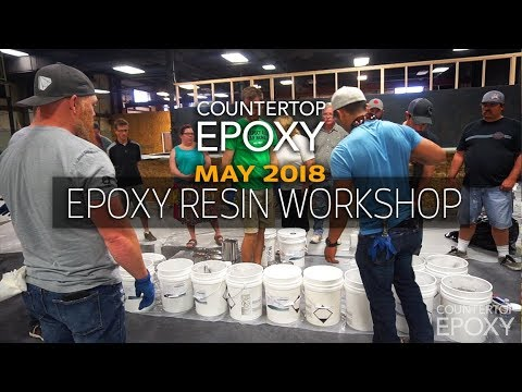 Epoxy Resin Workshop - 4 Day | May 2018