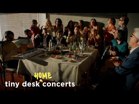 C. Tangana - Concierto Tiny Desk para  NPR Music