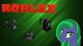How to get Jurassic World Headphone, Cap, & Backpack [Roblox Creator Challenge Event]