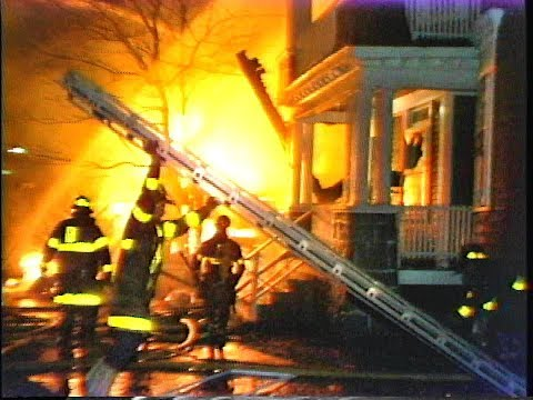 Blue Hill Ave and Woolson St Mattapan 4 alarm fire