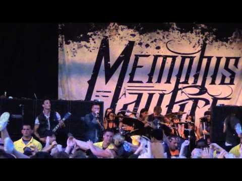 Memphis May Fire - Full Set Live at Warped Tour Chicago 2013