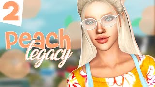 WE ALMOST DIED 😥 // The Sims 3: 🍑 PEACH LEGACY 🍑