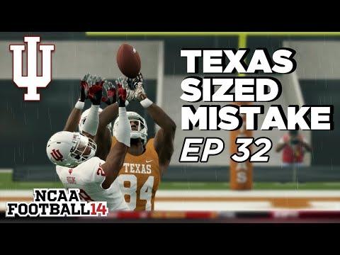 NCAA Football 14 Dynasty | Indiana Hoosiers - FATAL MISTAKE!!!  - Ep 32