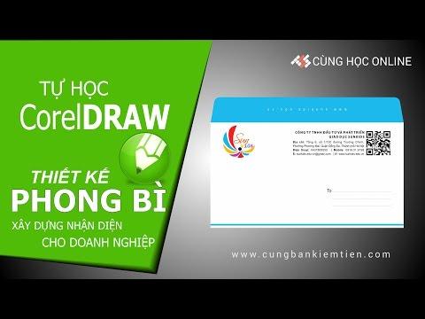 CorelDraw X6: Hướng dẫn thiết kế phong bì 12x22 với CorelDraw - Bài 19