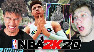 $400 Galaxy Opal LaMelo Ball WAGER vs. Jesser - DOUBLE or NOTHING NBA 2K20 MyTeam