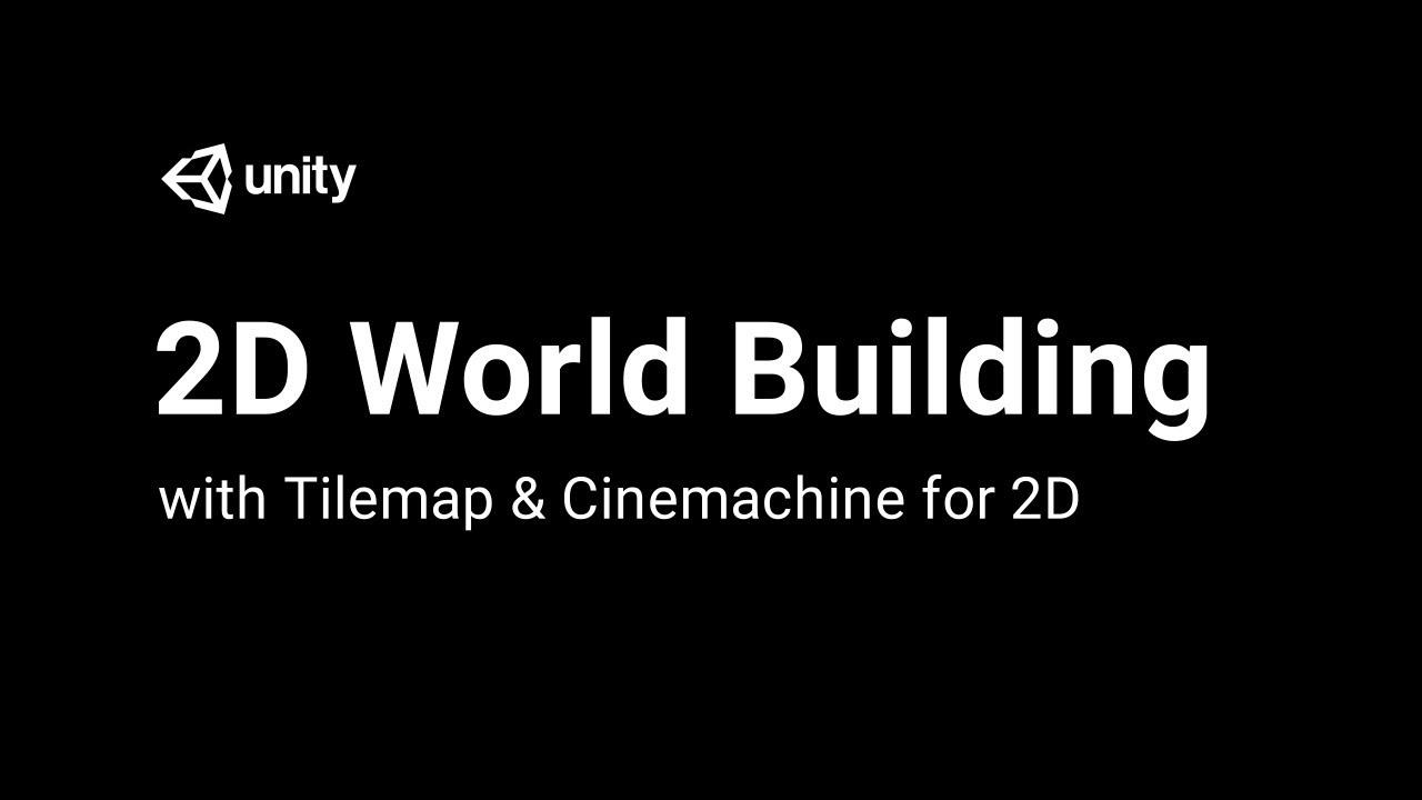 2D World building w/ Tilemap & Cinemachine for 2D - Tilemap Collider 2D  [3/8] Live 2017/22/08
