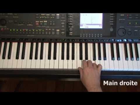 je d bute le clavier ou piano avec arrangeur youtube. Black Bedroom Furniture Sets. Home Design Ideas