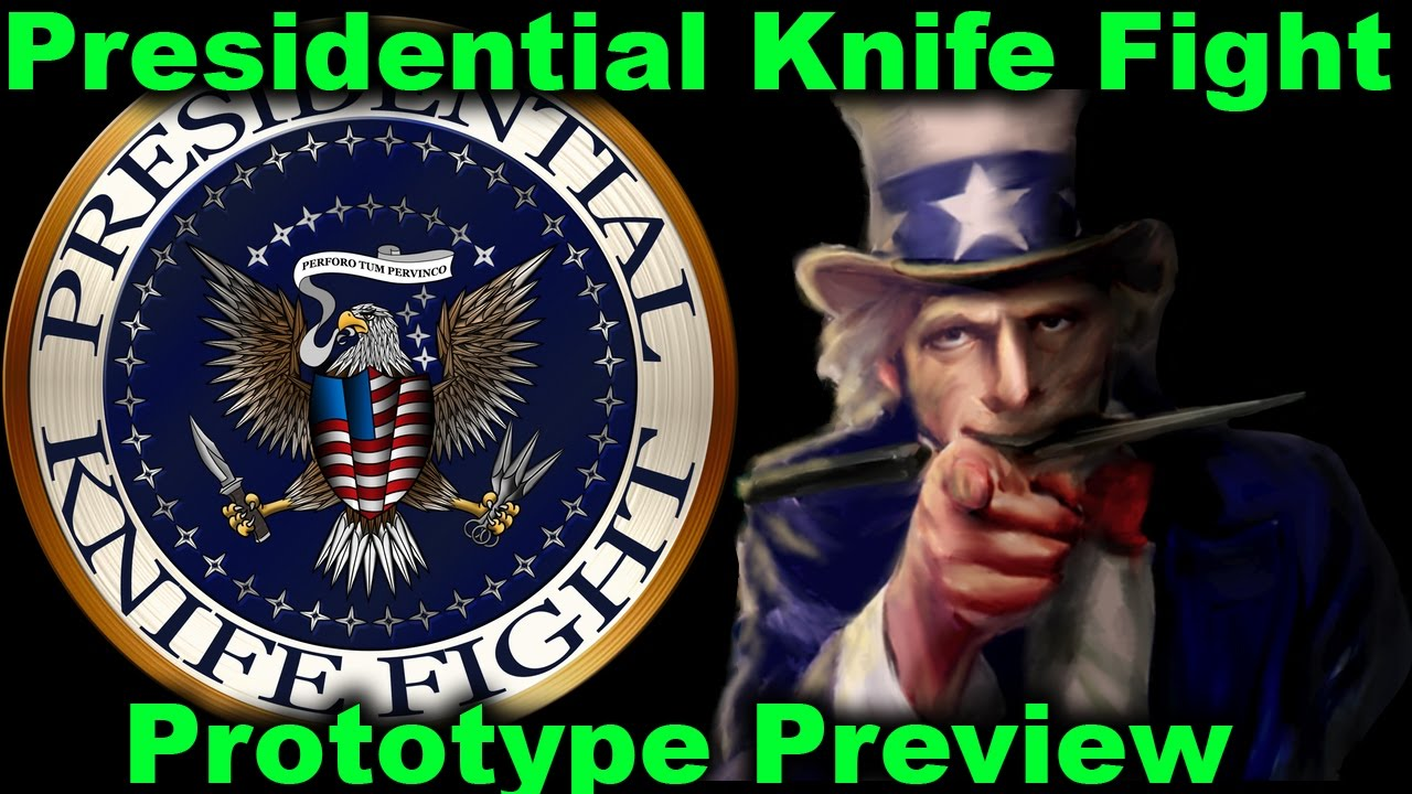 Card Game Preview Presidential Knife Fight Youtube