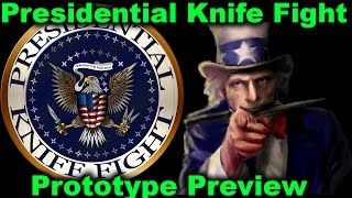 Card Game Preview   Presidential Knife Fight