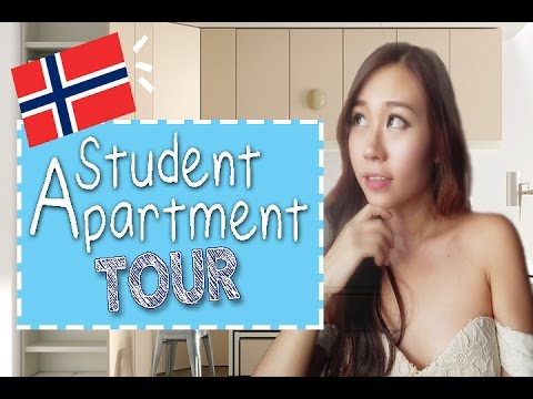 Student Apartment Tour in Norway, Oslo
