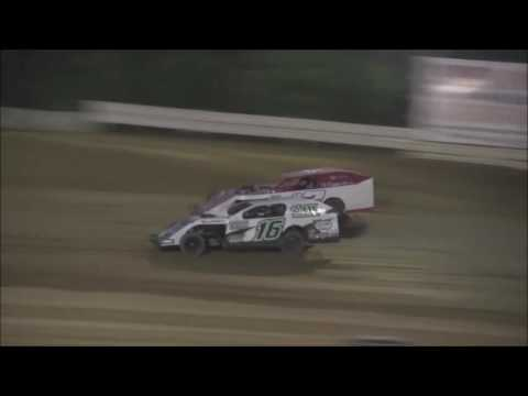 AMRA Modified Heat #1 from Jackson County Speedway, June 17, 2016.