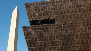 Architect on African American History Museum's unique exterior