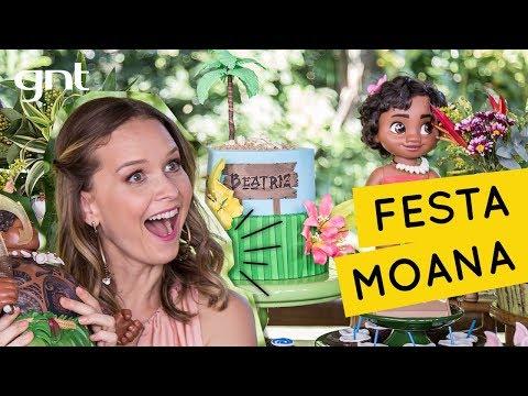 Festa infantil da Moana | Decoração Infantil | Fazendo a Festa