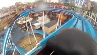 Coney Island Wild River Luna Park (HD POV) 2012