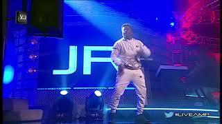 #liveamp performance of #vibin by @jrafrika