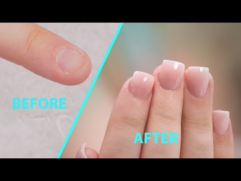 Mixing Acrylic Powders For Natural Looking Ombre Acrylic Nails Youtube