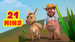 Benny The Silly Donkey and much more | Kids Moral Stories Collection | Infobells