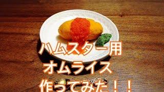 使用材料 かぼちゃ ハムタ食堂 はむはむ食ぱむ 人参 家にあった餌(ブロ...