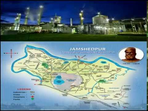 Reimagining Jamshedpur In 2025 (TATA STEEL Project)