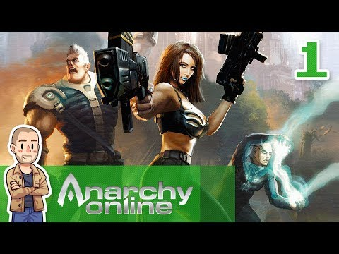 Anarchy Online Gameplay Part 1 – New Citizen – MMO Let's Play