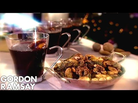 Gordon Ramsay's Mulled Wine With Dry Roasted Spiced Nuts