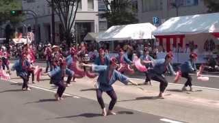 夏まつり2013 梵天しばた 流し踊り-1mp4