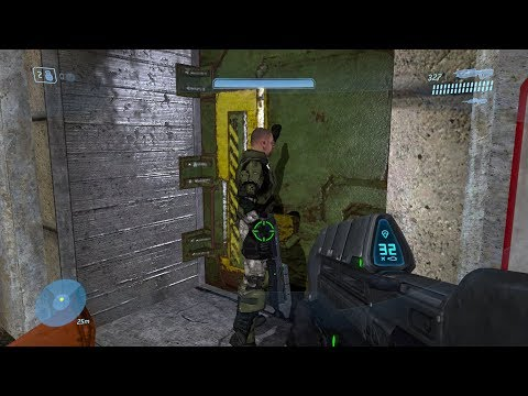 Halo 3 - What's Behind The RvB Easter Egg Door?