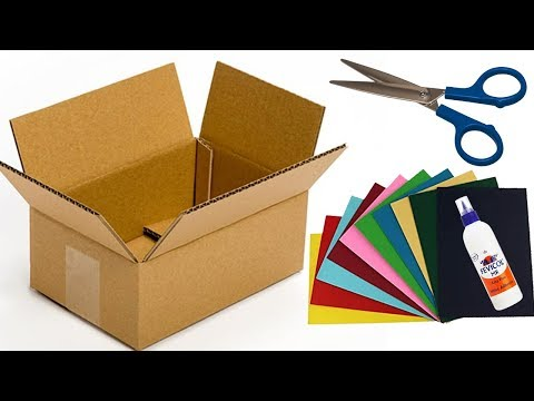 wall-hanging-crafts-with-cardboard-||-diy-wall-decor-ideas-||-simple-paper-crafts-for-kids
