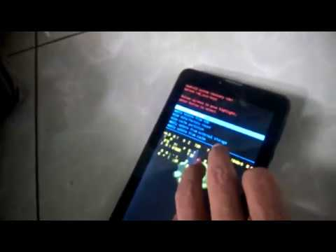 Hard Reset Tablet Evercoos At7j Youtube