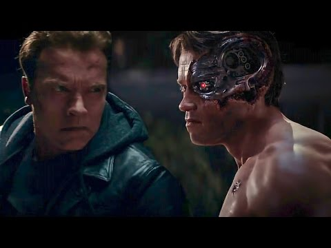 Download Terminator Genisys | Old vs Young Arnold Fight | Arnold Schwarzenegger : I've Been Waiting For You Snapshots