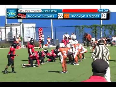 WEB BM 34 Brooklyn Pitbulls v Brooklyn Knights Jr Pee Wee Pop Warner 2010