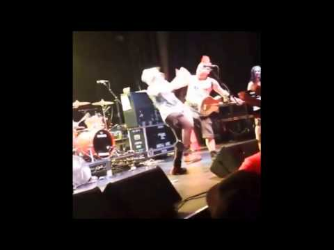 "Parody Stitches ""Boot in your face"" ft Video of Fat Mike NOFX hitting fan"