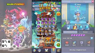 Taptap Heroes - As much fusion as I can do!