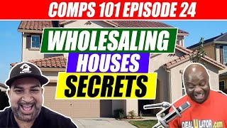 Wholesaling Houses Secrets - Comps 101 Eps #24 | Using Zillow And Deaulator To Comp