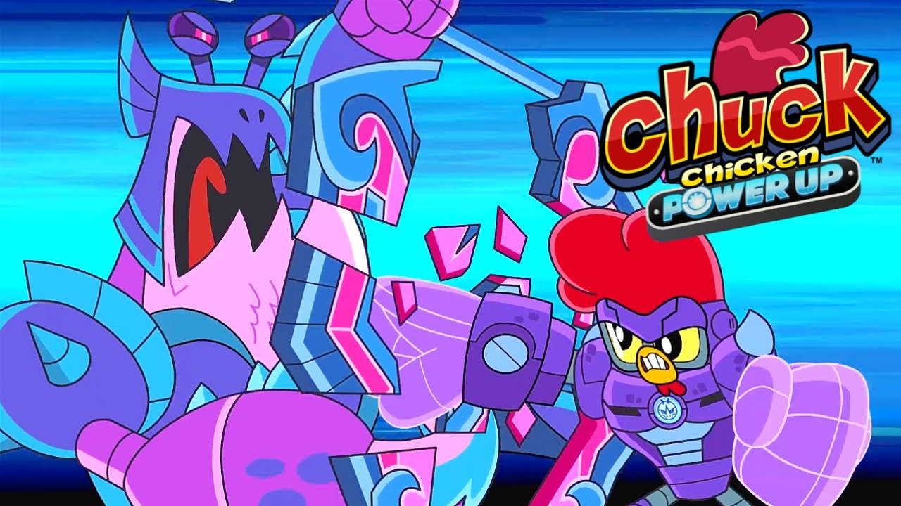 Chuck Chicken 🐔 Power Up & Special Edition 🙊🙉 Beach Brawl & Monkey Trouble ✨ Chuck Chicken Cartoons