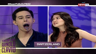 Tonight with Arnold Clavio: Meant To Be stars, sumabak sa mouthguard challenge!
