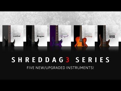 Shreddage 3 Series - Overview of Five UPGRADES From Shreddage 2!