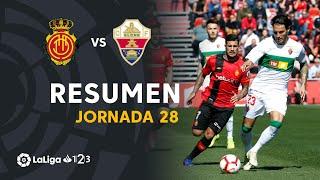 Resumen de RCD Mallorca vs Elche CF (1-1)