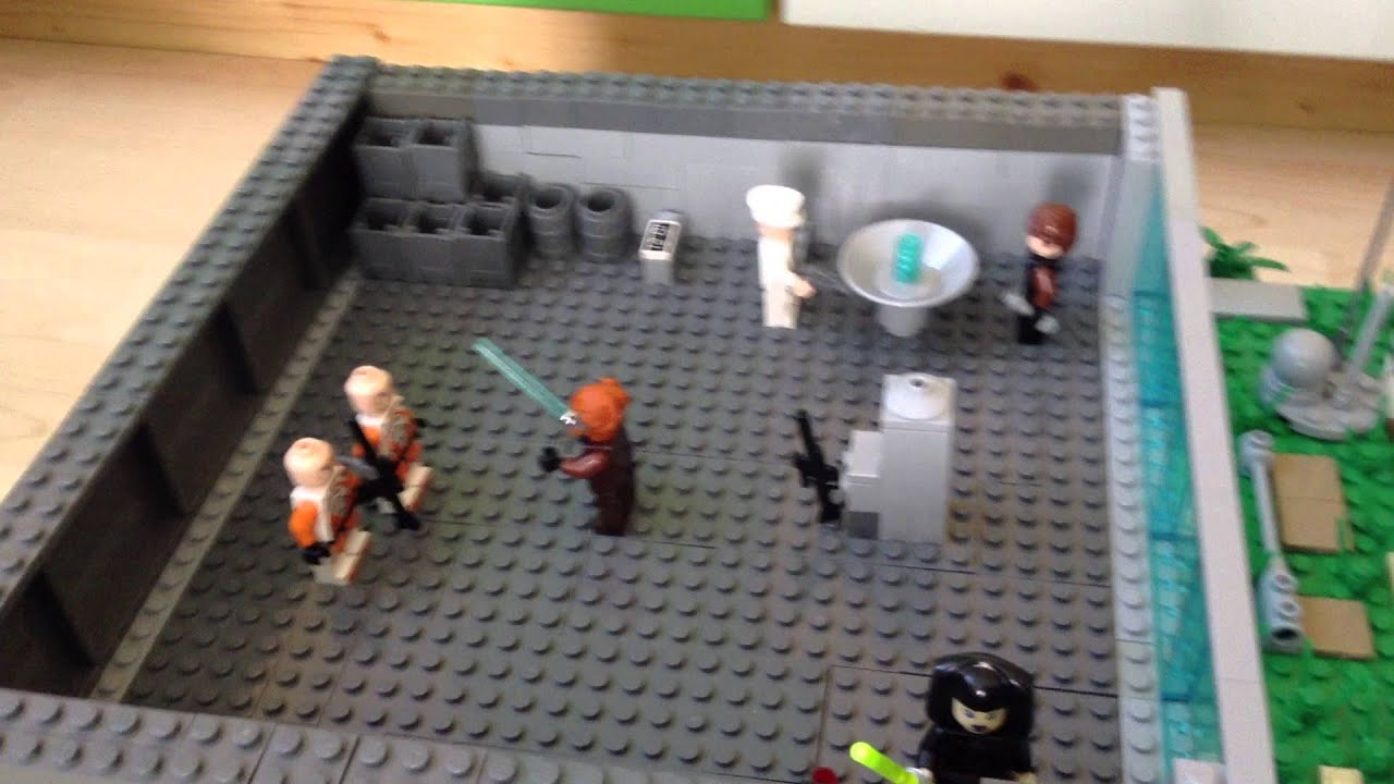 Bilder Zum Ausmalen Jungs Lego Star Wars Moc-clone Basis-deutsch - Youtube