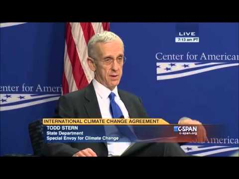 U S  Special Envoy for Climate Change Todd Stern on Paris Agreement